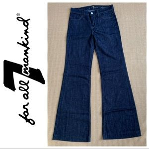 NWOT 7 For All Mankind GINGER flare jeans